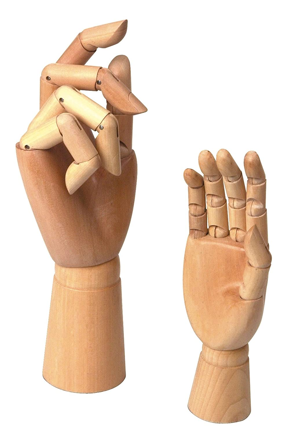 9007 Jakar Large Wooden Hand With Moveable Fingers//Joints
