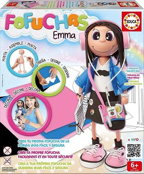 Educa Borrás Fofucha Emma muñeca Estudiante (16375)