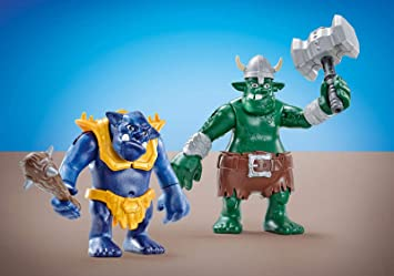Outletdelocio. Playmobil 6593. Pareja de Trolls Gigantes: Amazon ...