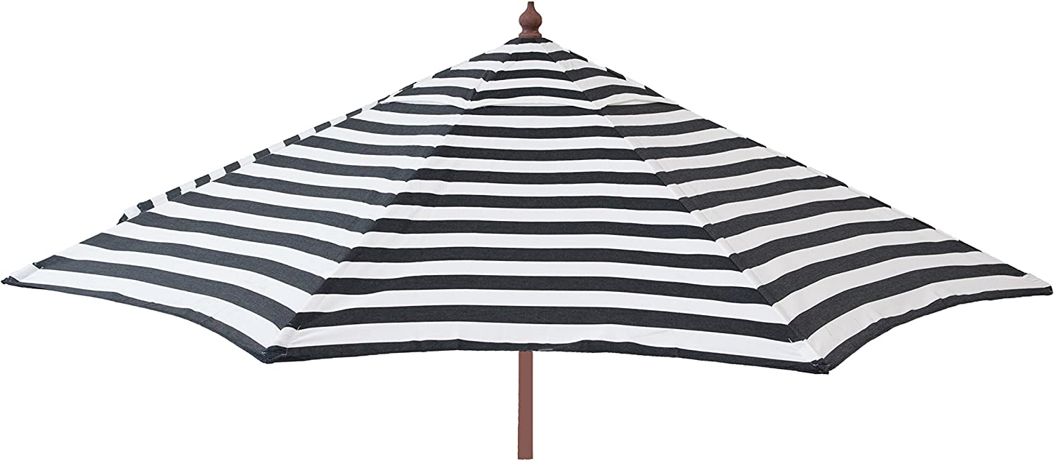 FLAME SHADE 7.5 Sunbrella Aluminum Outdoor Patio Umbrella Market Style with Tilt for Table Balcony Garden Caf Terrace or Deck, Beige