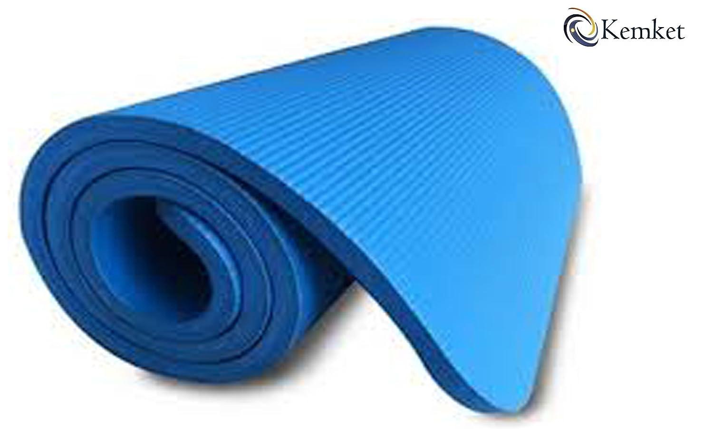 Kemket Esterilla antideslizante para ejercicios, fitness o yoga ...