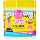Salon Line Gelatina Tô de Cacho, Transição Capilar Liberado, , 550 gr
