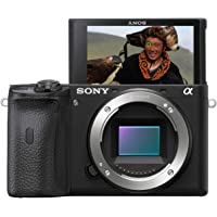 Sony Alpha 6600 Premium Mirrorless APS-C Camera with 0.02-sec. fast AF, Real-time Eye AF for human and animal, 5-axis in-body optical image stabilisation, 4K HDR (HLG)