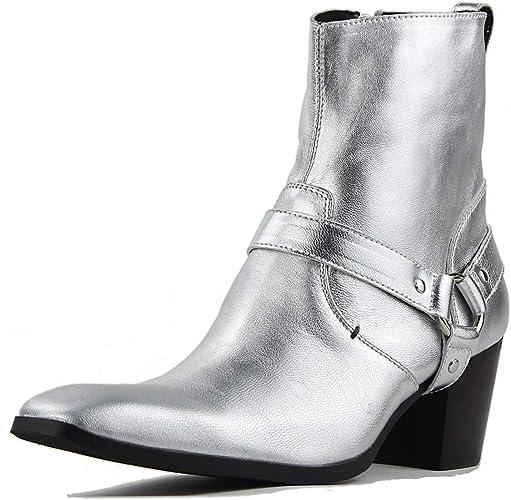 bottes mi-mollets homme cowboy souples