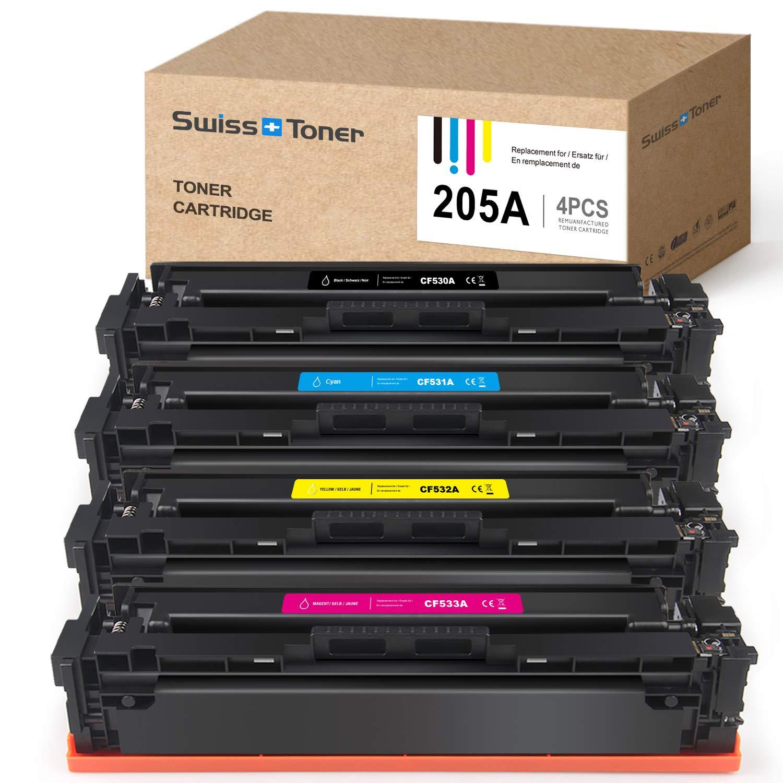 SWISS TONER CF530A Cartucce Toner Compatible con HP 205A CF530A ...