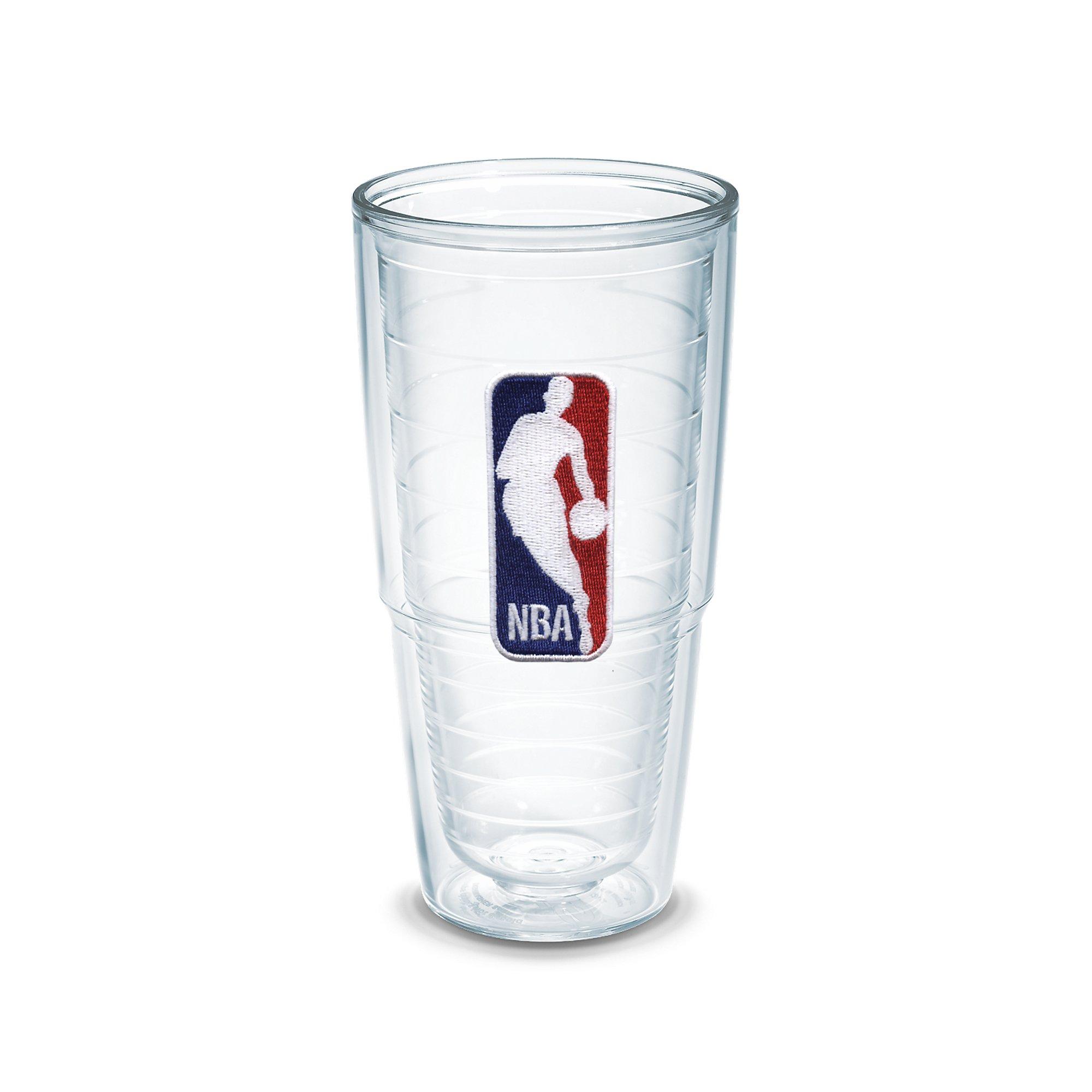 Tervis 1051538 ''NBA Logo'' Tumbler, Emblem, 24 oz, Clear