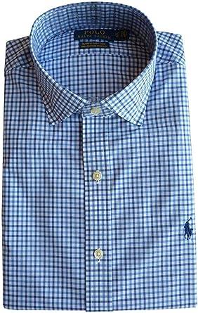 Polo Ralph Lauren Camisa Gr.40-41 (16), Delgado Easy Care, Stretch