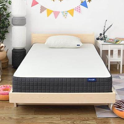 Twin Mattress- Sweetnight Breeze Twin Size Mattress, Medium Firm Memory Foam Mattress for Sleep Cool & Pressure Relief, 8 inch