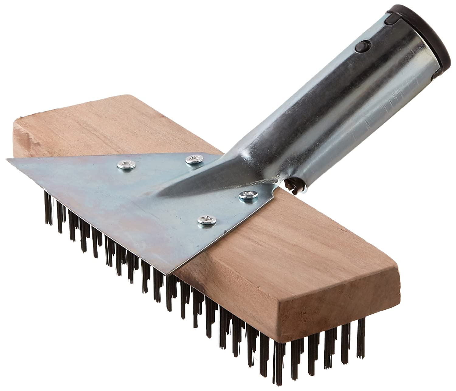 GAM Straight Back Wire Brush with Scraper
