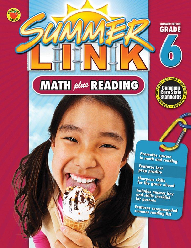 Math Plus Reading Workbook: Summer Before Grade 6 (Summer Link)