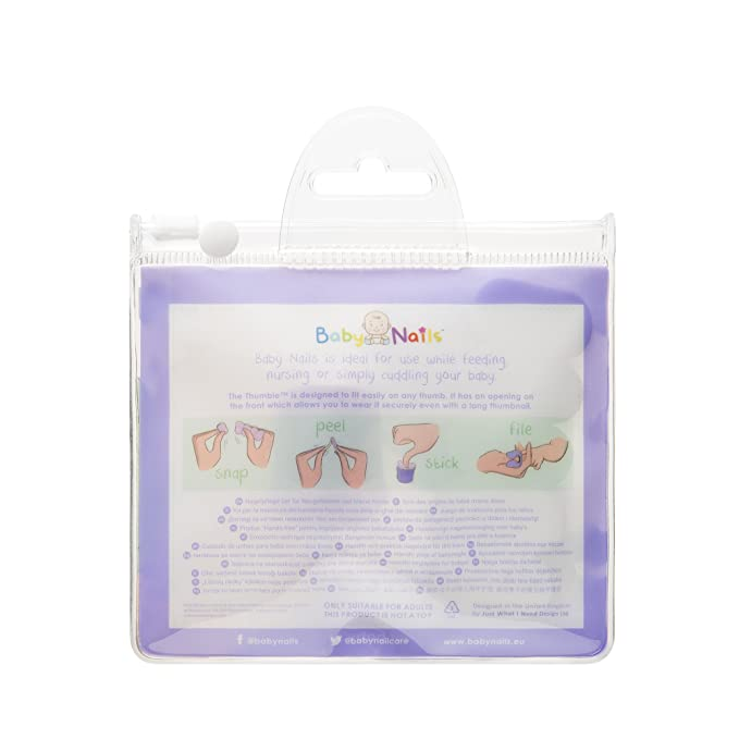 The Thumble - Wearable Baby Nail File image 3