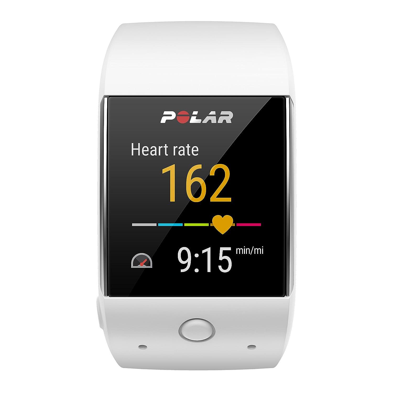 Polar M600 Deportes Reloj Inteligente - 90063089, Blanco: Amazon ...
