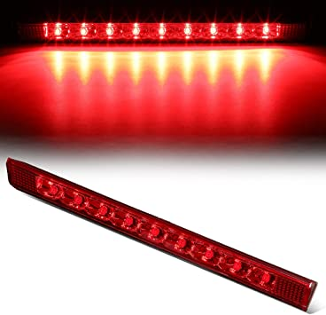 FOR 2013-2018 TOYOTA RAV4 LEXUS GX460 LED THIRD 3RD TAIL BRAKE LIGHT LAMP CHROME
