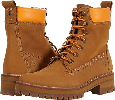arcilla Sin personal piso  Amazon.com: Timberland Courmayeur Valley - Botas de mujer de 6 pulgadas /  15.24 cm.: Shoes