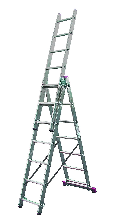 LALG378 Escalera para Desniveles, 3 X 7 Peldaños: Amazon.es: Industria, empresas y ciencia