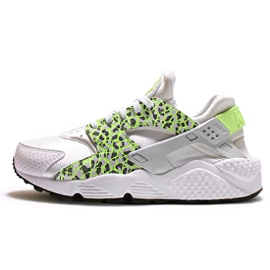 e80dcb33df98 Nike Womens Air Huarache Run PRM Running Shoes 683818-101 White 6 M US