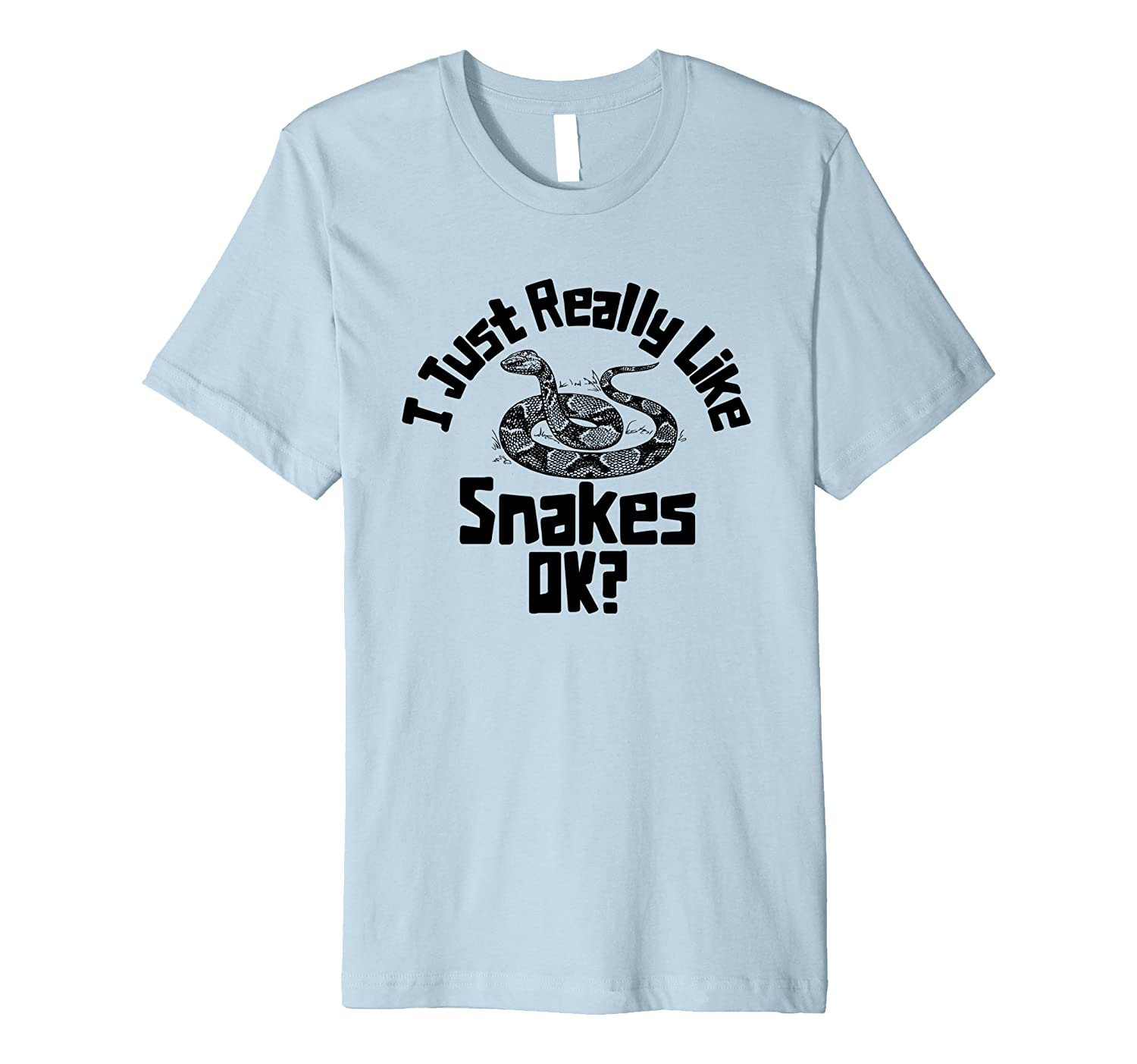 I Just Really Like Snakes OK? Snake Handler Premium Shirt-ANZ