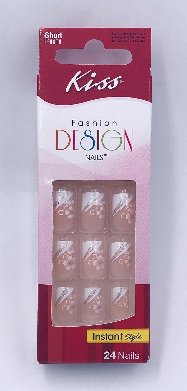 Amazon.com  Kiss Fashion Design Short French Manicure Nails