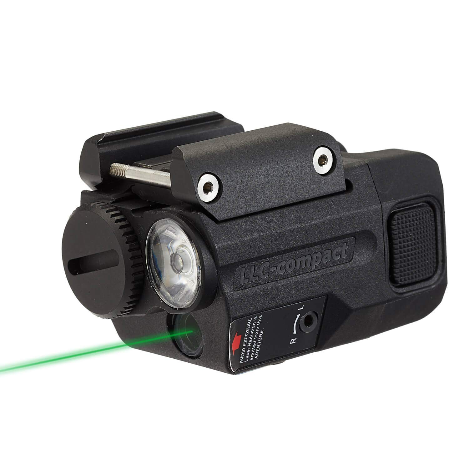 Beamshot LLC-Compact LED & Green Laser Sight Combo, for Concealed Carry (2019 ver.) by Beamshot