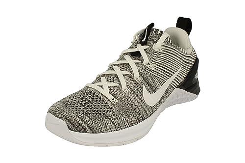 outlet store 2e59d 0d28a Nike Wmns Metcon Dsx Flyknit 2, Zapatillas de Deporte para Mujer, Blanco  White Black 100, 41 EU  Amazon.es  Zapatos y complementos
