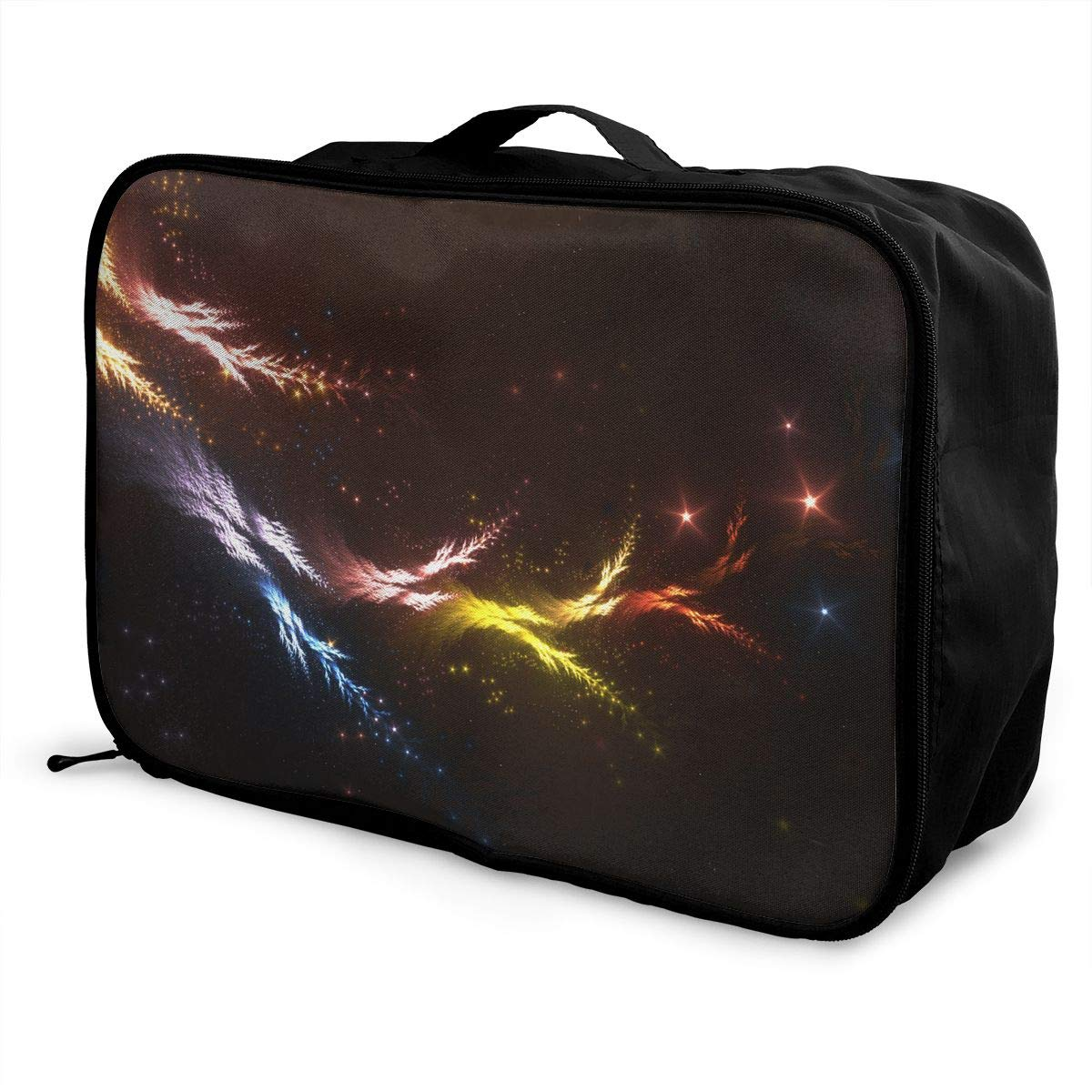 Travel Luggage Duffle Bag Lightweight Portable Handbag Fantasy Print Large Capacity Waterproof Foldable Storage Tote