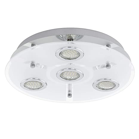 EGLO 13531 Cisano 2 - Lámpara de techo, fabricada en acero ...