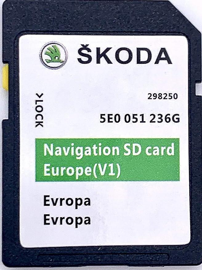 Skoda Mib1 Amundsen Sd Karte Navi Update 2020 Navigation