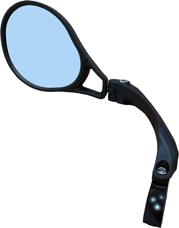 Hafny HF-M901LB-FR01 R/étroviseur de Guidon de v/élo homologu/é E Bleu HD