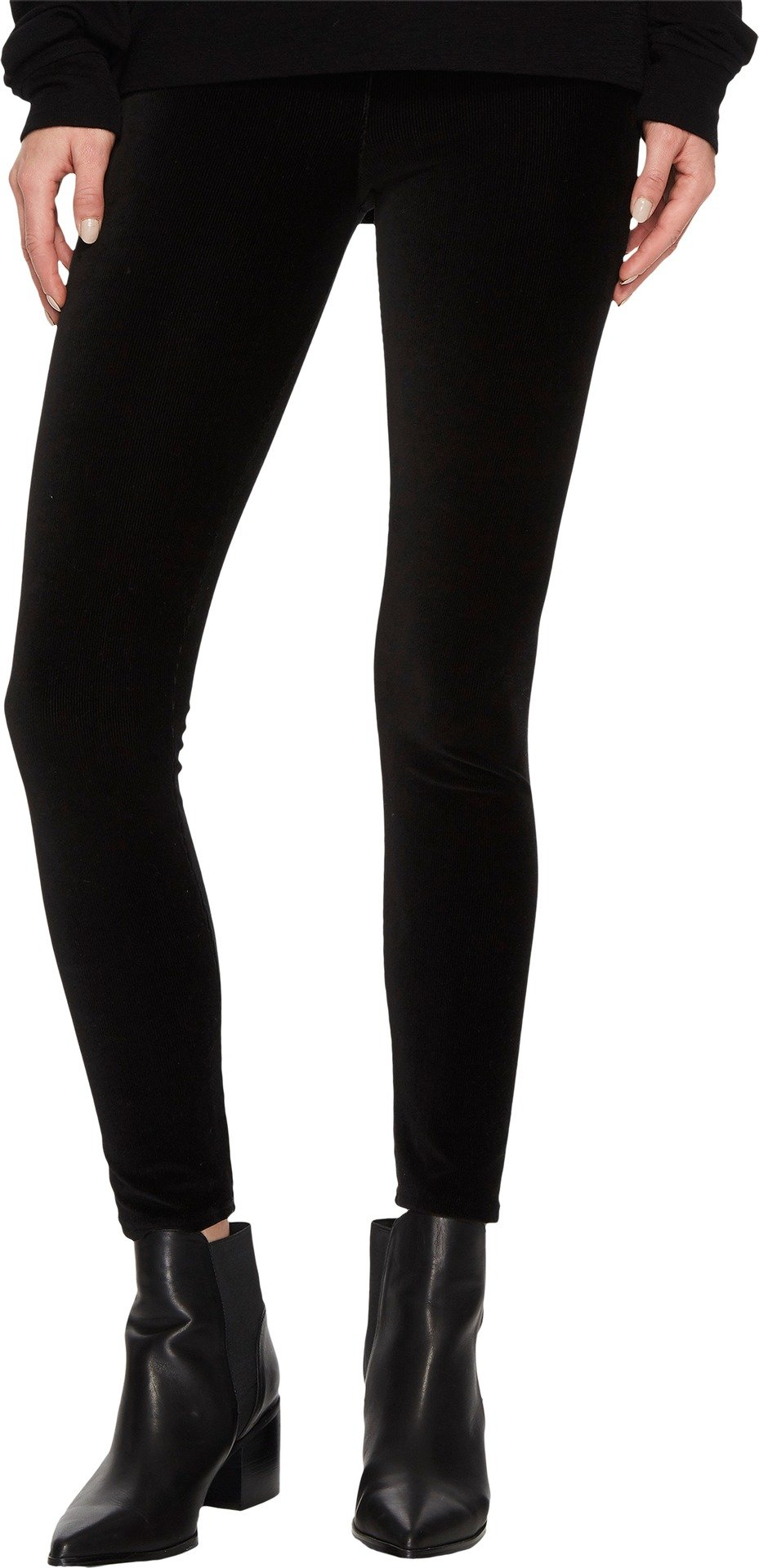 Vince Women's Stretch Corduroy Leggings Black Small