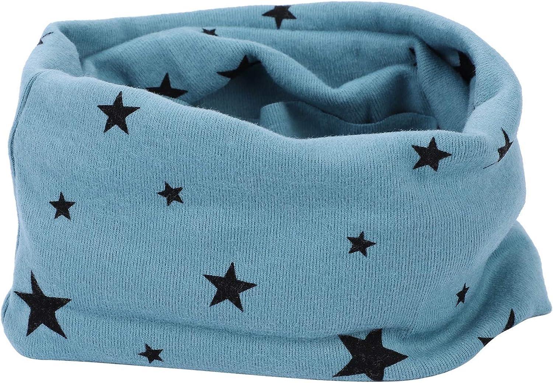 Kids 100/% Cotton Neckerchief Baby Girl Boy Bandana Snood Scarf Multifunction Neck Warmer Elastic Tube Headband Seamless Magic Headwear with UV Resistance Aged 1-8 year