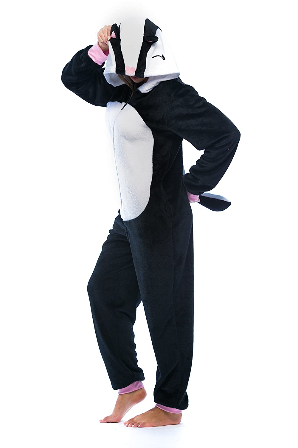 Just Love Skunk Adult Onesie / Pajamas