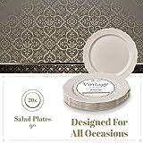 DISPOSABLE DINNERWARE SET, 20 Side Plates