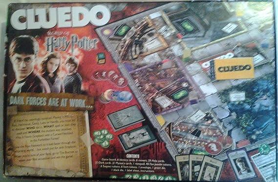 Hasbro - Juego de Mesa Cluedo, edición Harry Potter (Importado de Reino Unido): Amazon.es: Juguetes y juegos