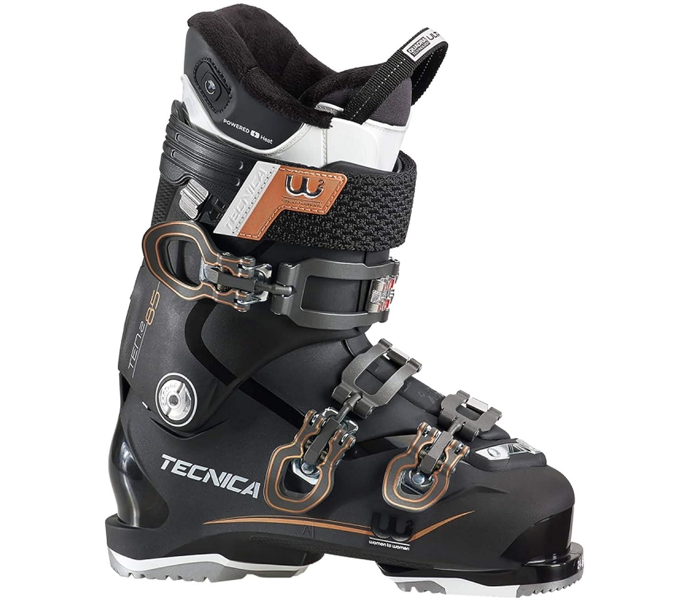 Moon Boot Tecnica - Ten.2 85 C.A. Heat Damen Skischuh (schwarz/Bronze) - 26,0 - UK 7