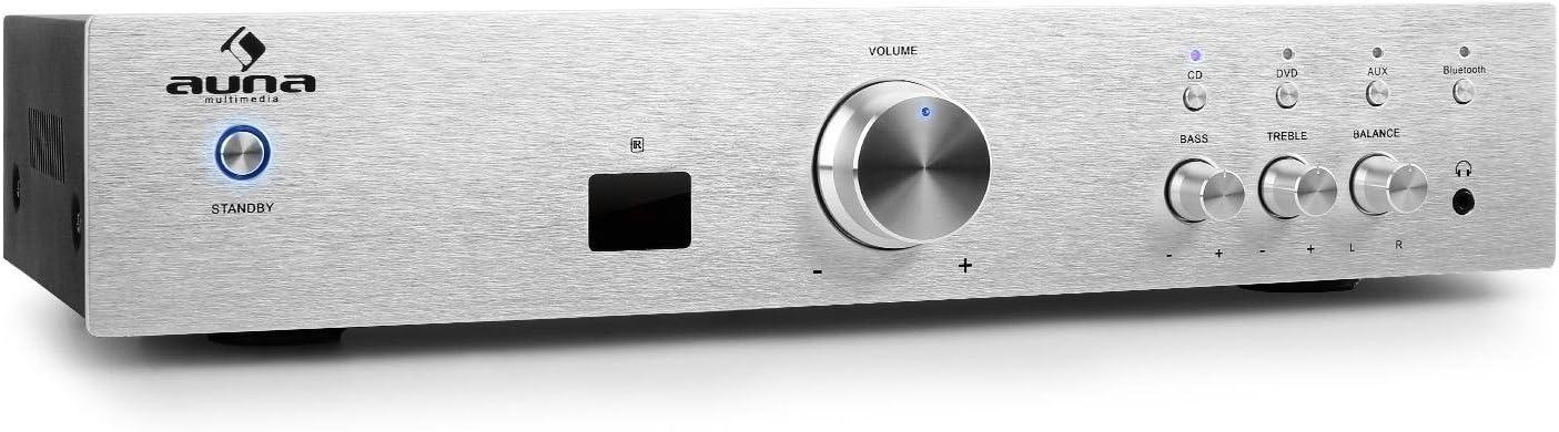 auna AV2-CD508BT - Amplificador de Alta definición , Bluetooth ...