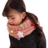 Écharpe Tube Enfant Tour de Cou Enfant Fille Garçon Écharpe Tricotée Hiver  Écharpe Chaude et Douce 0cb605befb1