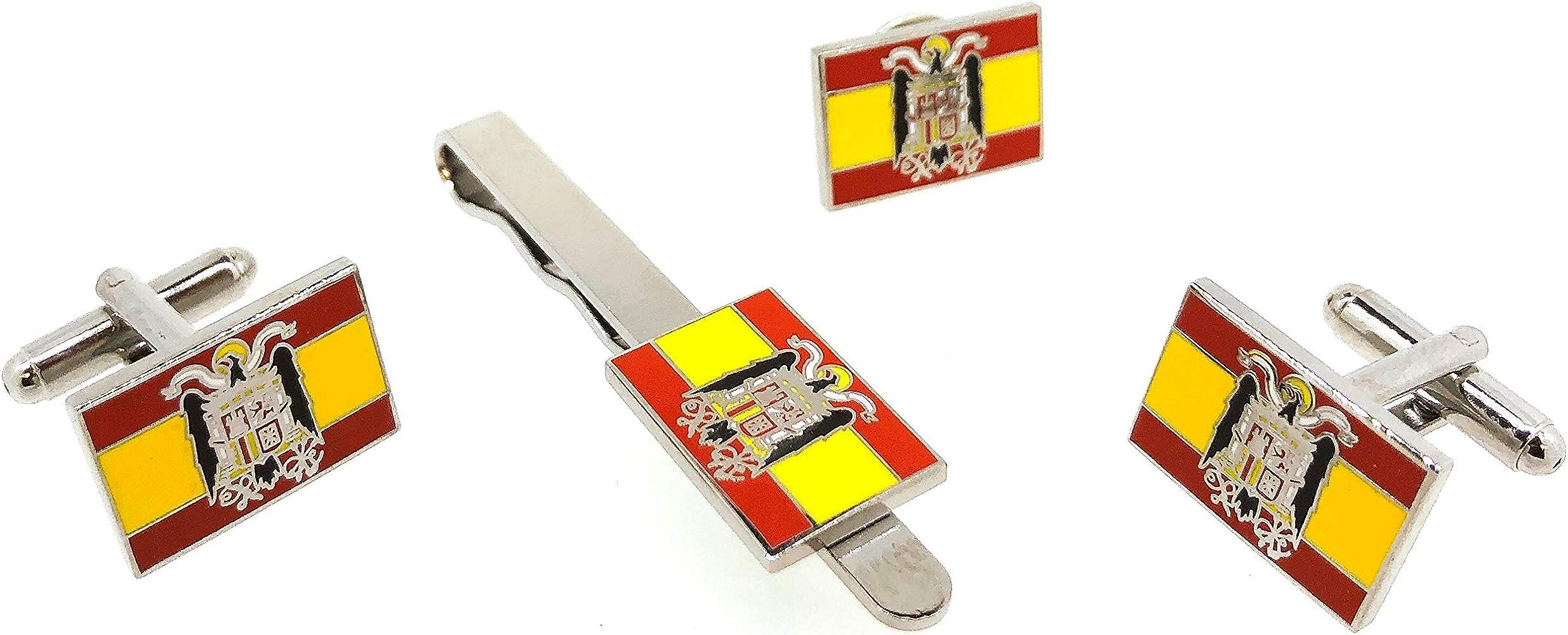 Gemelolandia Pack Completo de la Bandera de España Aguila San Juan: Amazon.es: Ropa y accesorios