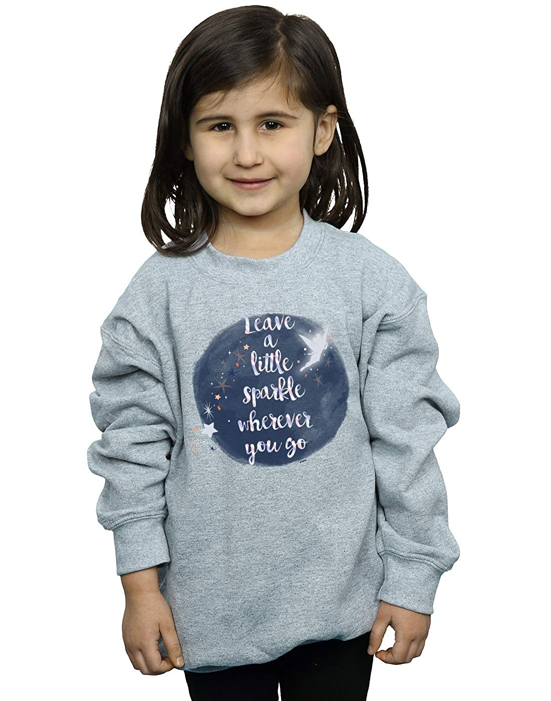 Disney Girls Tinker Bell A Little Sparkle Sweatshirt