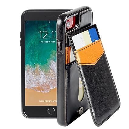 Amazon.com: basecent iPhone funda tipo tarjeta y soporte ...
