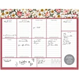 Desktop Weekly Planner Notepad 8.5x11 | 60 Undated Tear-Off Pages | Schedule Daily to-Do Lists | Increase Your Productivity in Less Than 5 Minutes A Week | Achieve Your Goals