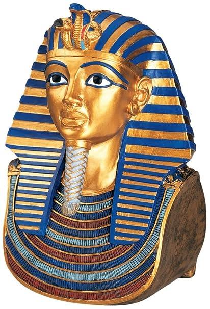 Mascara de oro de tutankamon