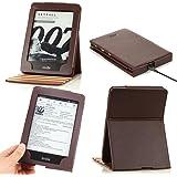 ATiC Amazon NEW-Kindle Paperwhite専用 直立タイプ 軽量 薄型 保護ケース (オートスリープ機能付き 2012/ 2013/ 2015/2016/マンガモデル適応) COFFEE