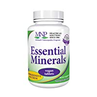 Michael's Naturopathic Programs Essential Minerals - 240 Vegan Tablets - Supports Nerve Communication & Proper Functioning of Muscles - Vegetarian, Kosher - 60 Servings