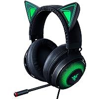 Razer Kraken Kitty RGB USB Gaming Headset: THX 7.1 Spatial Surround Sound - Chroma RGB Lighting - Retractable Active…