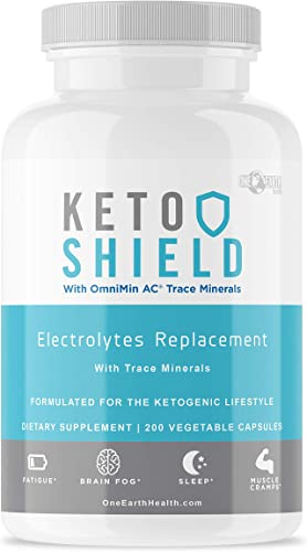 Keto Diet Electrolyte Supplement 200 Count – Keto Vitamins Electrolyte Capsules Maxed Out with Magnesium, Sodium, Calcium, Potassium and Trace Minerals. Advanced Formula.