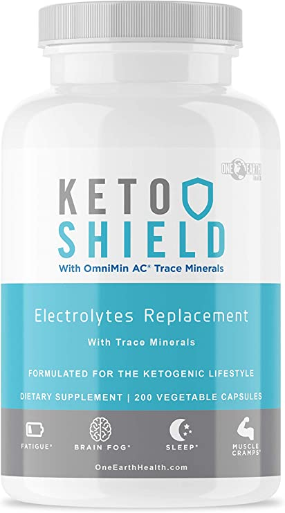 Keto Diet Electrolyte Supplement (200 Count) - Keto Vitamins Electrolyte Capsules Maxed Out with Magnesium, Sodium, Calcium, Potassium and Trace Minerals. Advanced Formula.