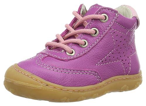 5d36ba498fa4 Ricosta Baby Mädchen Sami Sneaker  Amazon.de  Schuhe   Handtaschen