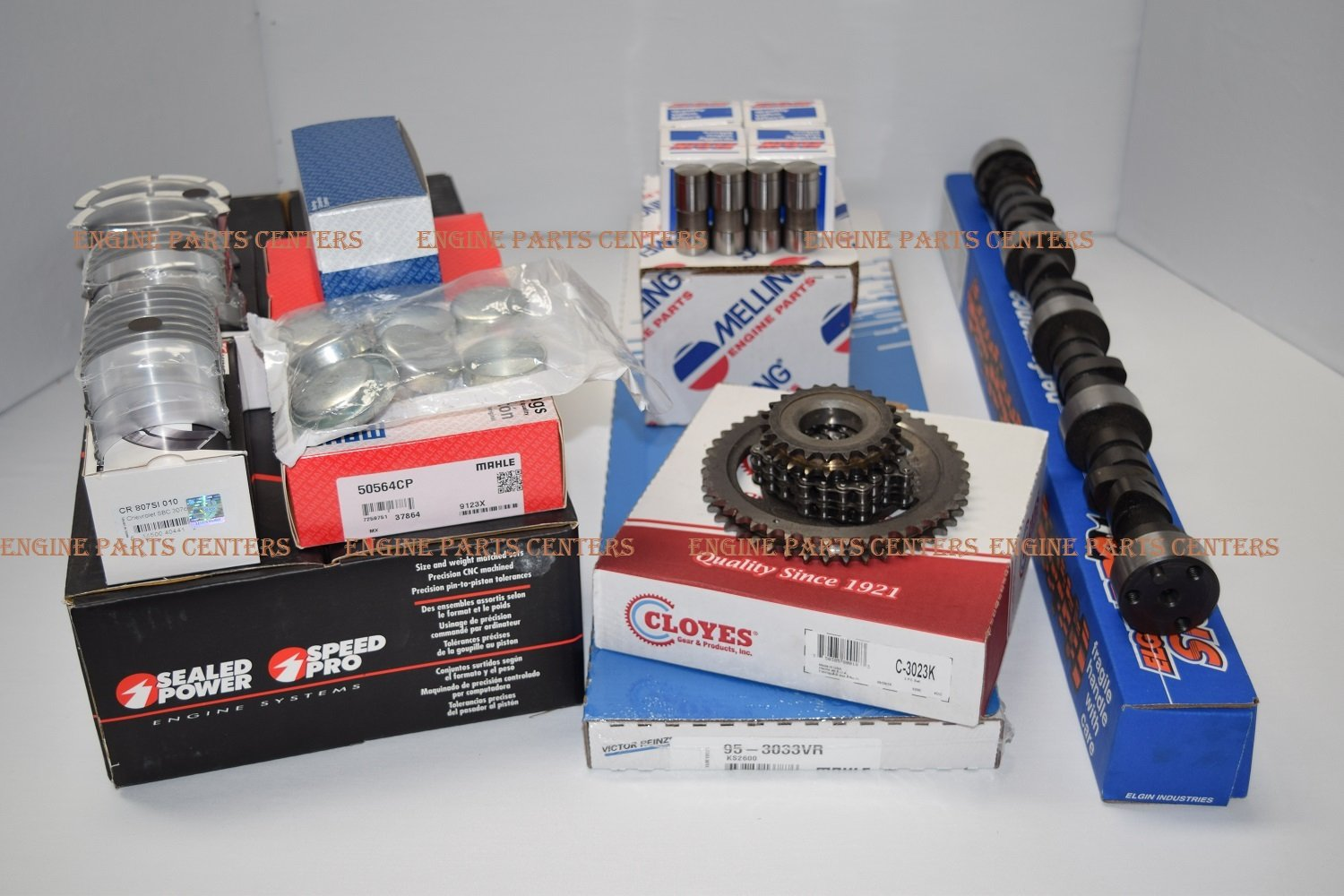 MASTER Engine Kit compatible with 1980-85 Chevy TRUCK 350 5.7 Pistons+Rings+Cam+Lifters+Timing Over Sizes Available