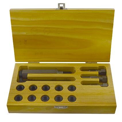 Bujía métrica Culata restaurador toca el kit de reparación de roscas M10 x 1,0
