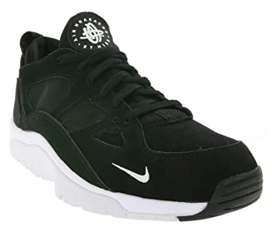official photos ac561 7bb0d Nike Air Trainer Huarache Low Mens Sneaker Black 749447 010, Size 44.5